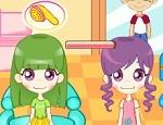 لعبة صالون قص شعر الاولاد