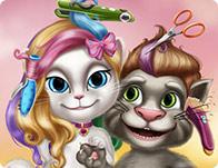 تسريحات القطط